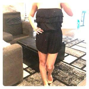 Black NWOT shorts romper